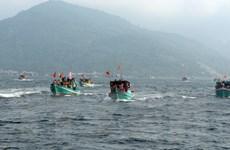 [Photo] Tưng bừng hoạt động Lễ hội Nghinh Ông ở Kiên Giang