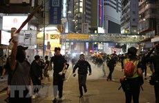 Chính quyền Hong Kong yêu cầu các trường học đóng cửa ngày 14/11