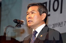 Lãnh đạo quốc phòng Hàn-Nhật sẽ hội đàm trước khi GSOMIA hết hạn