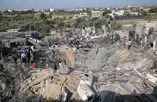 Israel thực hiện các cuộc tấn công vào phong trào Hamas tại Dải Gaza