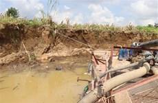 Hải Dương: Bị xử phạt 150 triệu đồng vì khai thác cát trái phép