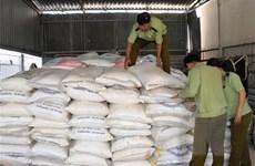 Phát hiện gần 13.000kg đường cát nhập lậu giấu trong vườn cao su