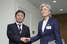 Nhật Bản và Hàn Quốc nhất trí về cuộc gặp thượng đỉnh vào tháng 12