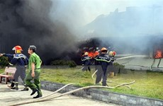 Vụ cháy tại may Nhà Bè: Công nhân sẽ trở lại làm việc vào đầu tháng 12
