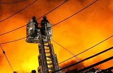 Chập điện gây cháy nhà tại Jordan khiến 13 người thiệt mạng
