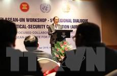 [Photo] Đối thoại ASEAN-Liên hợp quốc về hợp tác chính trị và an ninh