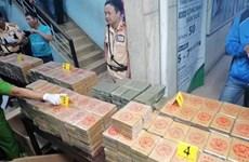 Thu giữ 850 bánh heroin từ Campuchia về Việt Nam chuyển đi Đài Loan