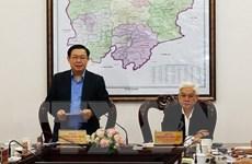 Đoàn Kiểm tra của Bộ Chính trị làm việc với Tỉnh ủy Bình Phước