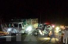 Tai nạn giao thông nghiêm trọng làm 3 người chết, 3 người bị thương