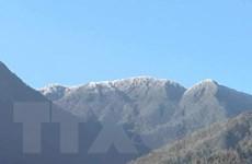 Sương muối, băng giá bao trùm vùng núi cao Bắc Bộ, có nơi dưới 3 độ C