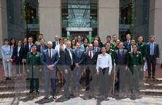 Hợp tác quốc phòng là một trụ cột trong quan hệ Việt Nam-Australia