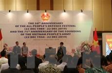 Kỷ niệm ngày thành lập Quân đội nhân dân Việt Nam tại Malaysia