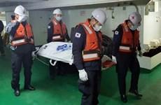 Phát hiện thi thể 2 thủy thủ Việt trong vụ chìm tàu cá ở Hàn Quốc