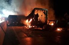 Hàn Quốc: Tai nạn liên hoàn trên cao tốc, ít nhất 7 người tử vong