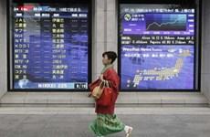 Chứng khoán châu Á đi xuống do nhà đầu tư bán tháo chốt lời