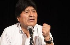 Viện công tố Bolivia phát lệnh bắt giữ cựu Tổng thống Evo Morales