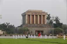 """[Video] """"Ngự lâm quân"""" thầm lặng bảo vệ Lăng Chủ Tịch Hồ Chí Minh"""