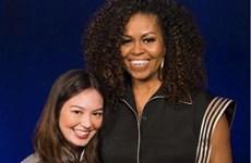 Cựu đệ nhất Phu nhân Mỹ Michelle Obama diện trang phục của Công Trí