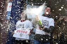 Dân Tây Ban Nha ăn mừng nhận giải xổ số El Gordo hơn 2 tỷ euro