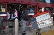 Mastercard: Doanh số bán lẻ mùa lễ hội của Mỹ tăng vượt dự đoán
