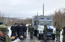 Kiev bắt đầu trao đổi tù nhân với Donetsk, Luhansk tại Donbass