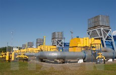 Naftogaz sẽ trung chuyển 75 triệu m3 khí đốt của Nga sang châu Âu