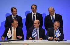 Israel ký thỏa thuận lịch sử về khai thác khí đốt với Hy Lạp và Cyprus