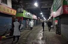 Trung Quốc đóng cửa một chợ hải sản liên quan dịch viêm phổi lạ