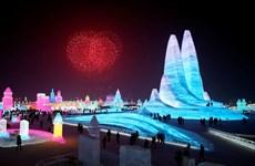 Trung Quốc: Ấn tượng lễ hội băng đăng quốc tế ở Cáp Nhĩ Tân