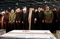 Iran: Thi thể Tướng Soleimani được đưa về Kerman an táng
