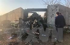 Ukraine: Máy bay rơi ở Iran do trục trặc động cơ, không phải khủng bố