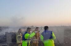 Bộ Ngoại giao Ukraine xác nhận thông tin về vụ tai nạn máy bay ở Iran