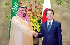 Thủ tướng Nhật Bản tới Saudi Arabia, bắt đầu công du Trung Đông