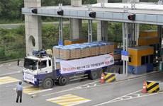 Hàn Quốc đã viện trợ nhân đạo gần 6 triệu USD cho Triều Tiên