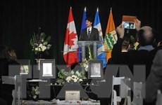 Vụ máy bay Ukraine rơi: Canada cân nhắc đền bù cho gia đình nạn nhân
