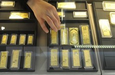 Giá vàng tại thị trường châu Á chạm mức cao nhất trong 2 tuần qua
