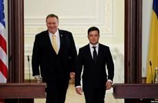 Ngoại trưởng Pompeo đề cập chuyến thăm Mỹ của Tổng thống Ukraine