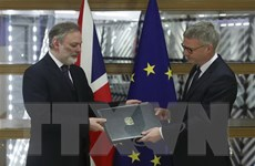 """Các lãnh đạo EU hoan nghênh """"khởi đầu mới cho châu Âu"""" sau Brexit"""