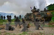Hàn Quốc: Tập trận chung với Mỹ không vi phạm thỏa thuận liên Triều