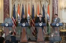 Ấn Độ và Mỹ hướng tới hợp tác trong lĩnh vực quốc phòng