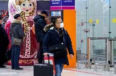 Dịch COVID-19: Nga cấm công dân Trung Quốc nhập cảnh