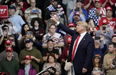 Tổng thống Donald Trump vận động tranh cử tại bang Arizona
