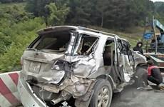 Sơn La: Tai nạn ôtô liên hoàn trên Quốc lộ 6, bốn người bị thương