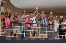 Dịch COVID-19: Toàn bộ hành khách tàu MS Westerdam đã về nước