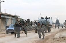 Nga yểm trợ quân đội Syria giành lại thị trấn chiến lược ở Idlib