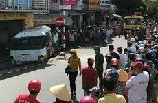 Bạc Liêu: Xe buýt gây tai nạn liên hoàn, 2 người thương vong