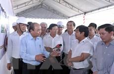 Thủ tướng thị sát tiến độ thi công cao tốc Trung Lương-Mỹ Thuận