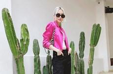 Sắc hồng thống trị phong cách street style tuần qua của dàn sao Việt