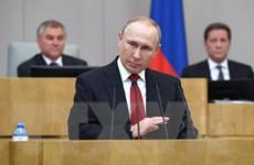 Tổng thống Vladimir Putin đã ký ban hành luật sửa đổi Hiến pháp