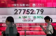 """Hầu hết chứng khoán châu Á tăng điểm, chứng khoán châu Âu lại """"đỏ sàn"""""""